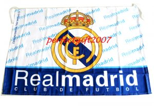Real Madrid Football Club FC Soccer Official Team Flag