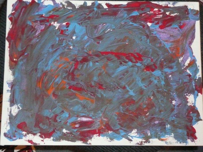 Print Painting # 17