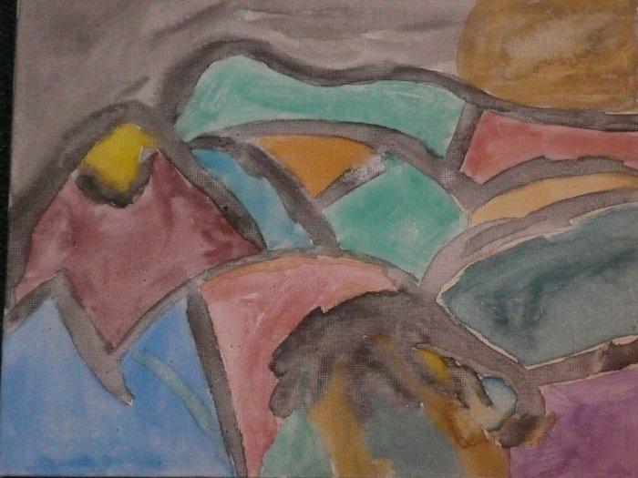 Print Painting # 8