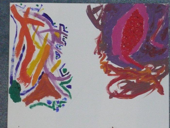 Print Painting # 6