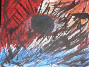 Print Painting # 4