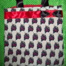Red Black and White Scooter Tote