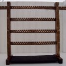 Jewelry Rack - Large Dark Walnut