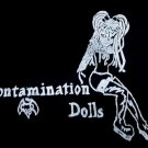 Contamination Dolls T-shirt: Medium