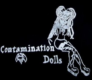 Contamination Dolls T-shirt: Small
