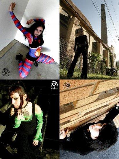 Four 6x4 Contamination Dolls assorted prints: Set 2
