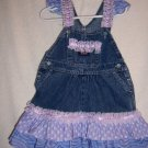 Purple, pink and white sundress , bonnet size 2