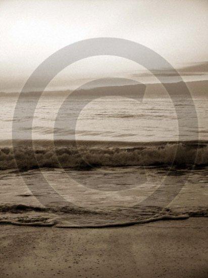 Shore Waves - 4002 - 8x10 Framed Photo