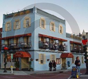 Riverboat Landing Restaurant - 3033 - 11x17 Photo