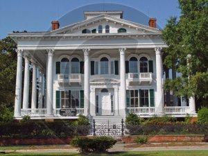 The Bellamy Mansion - 3047 - 11x17 Framed Photo