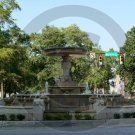 Kennan Fountain - 3060 - 11x17 Framed Photo