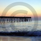 Pre-Dawn - Johnnie Mercer's Pier - 1007 - 11x17 Framed Photo