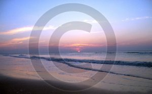 Third Millennium Sunrise - 1025 - 11x17 Framed Photo