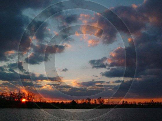 Quietly Slipping Away - Eagle Island - 2001 - 8x10 Framed Photo