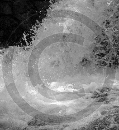 Divine Strength - Little Duck Falls - 7047 - 11x17 Photo