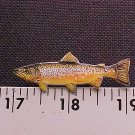 Brown Trout Hat Pin-High Quality-!!FREE SHP!!L@@K!!