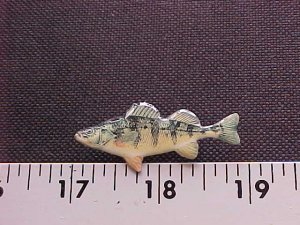 PERCH HAT PIN-High Quality-!!FREE SHP!!l@@k!!