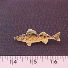 WALLEYE HAT PIN-HIGH QUAL-!!FREE SHP!! L@@K!!