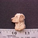 YELLOW LAB HAT PIN-HI QUAL**FREE SHP**L@@K**