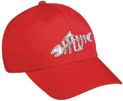 Fish Bones Outdoor Cap Red-Very Hi Quality