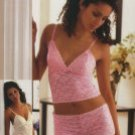 Stretch Lace Camisole Top. With Matching Boy-Shorts.