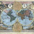 1716 Baptist Homann World Map—Reproduction