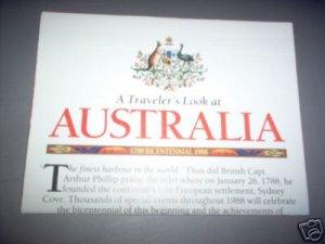 1988 Australia National Geographic Map