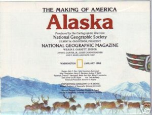 ALASKA, The Making of America MAP