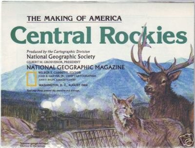 Central Rockies, The Making of America Map