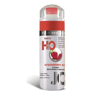 System Jo - Strawberry Kiss Flavored Water Based Lubricant