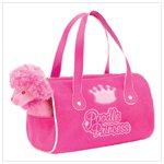 Poodle Princess Plush Carrier