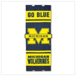 University of Michigan Door Flag