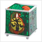 Halloween Glass Votive Holder