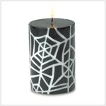 Spider Web Candle