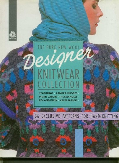 Designer Knitwear collection 36 great designs to knit
