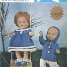 Vintage knitting pattern for dolls/reborns. Bairnswear 1579