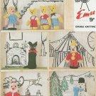 Vintage knitting pattern for Adorable toys. Emu 8126. PDF