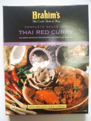 Brahim's Thai Red Curry