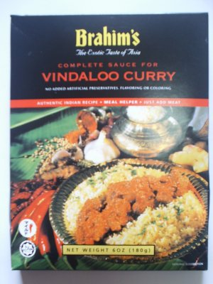 Brahim's Vindaloo Curry