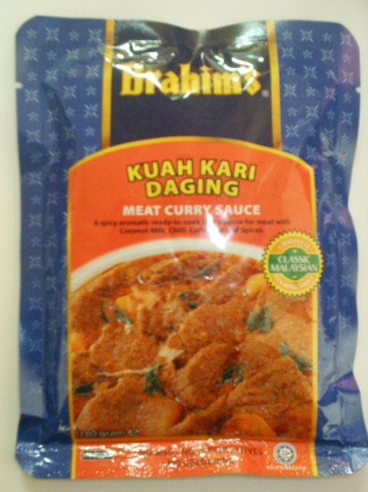 Brahim's Meat Curry Sauce
