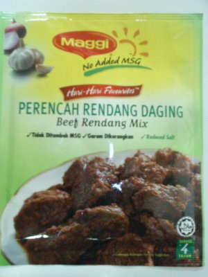 Maggi Beef Rendang Mix