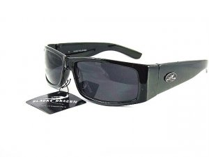 Men Fashion Designer Sunglass Black Dragon 1004