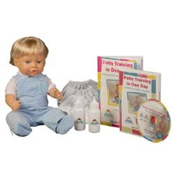 Potty Training in One Day The Potty Scotty Kit w/DVD