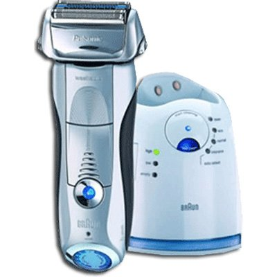 Braun Pulsonic Electric Razor Plus Clean & Charge