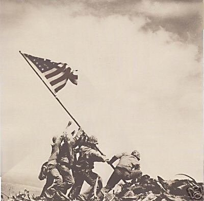 """Iwo Jima Flag Raising"" by Paper House Productions"