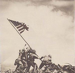 """Iwo Jima Flag Raising"" by Paper House Productions"