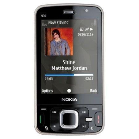 Nokia N96 Quadband 3G GPS Unlocked Phone (SIM Free)