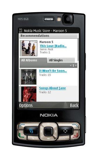 Nokia N95 8GB Quadband 3G HSDPA GPS Unlocked Phone (SIM Free)