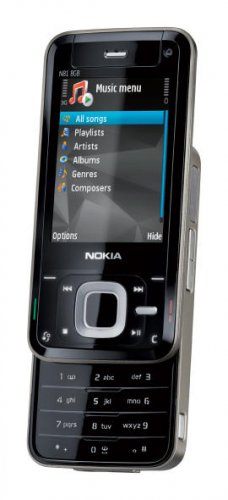 Nokia N81 Quadband 3G Wi-Fi Unlocked Phone with 2GB memory Card