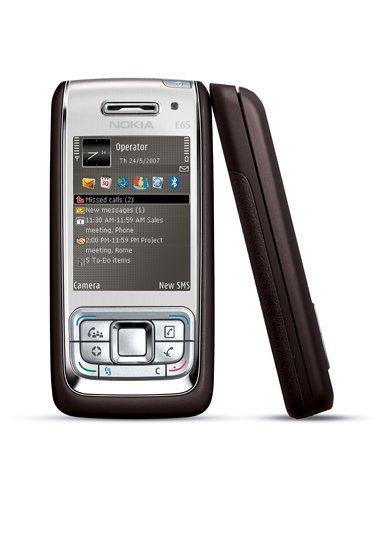 Nokia E65 Quadband Unlocked Phone (SIM Free) + 256MB Memory Card